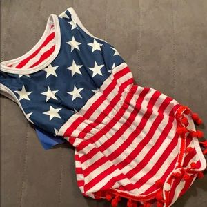 Other - 4th of July Romper